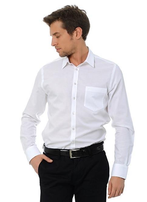 Beymen Klasik Gömlek Beyaz